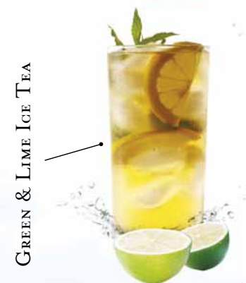 Green & Lime Ice Tea