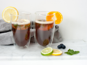 Home made ice tea met 50% minder suiker (2)